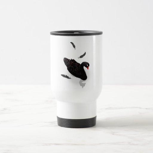 Elegant Black Swan Coffee Mug