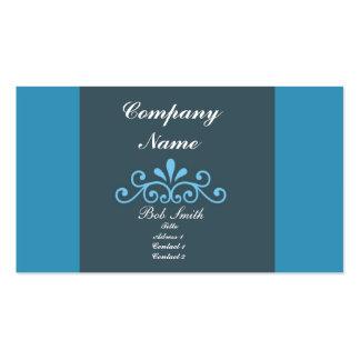 Elegant Blue Business Cards