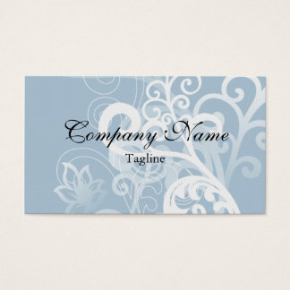 Elegant Blue Classic Design Business Cards