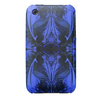 Elegant Blue Digital Design iPhone 3 Case