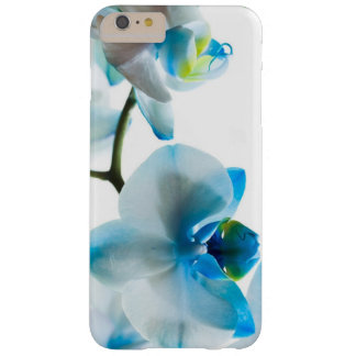Elegant Blue Orchids Barely There iPhone 6 Plus Case
