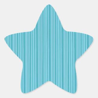 Elegant BLUE Stripe Groove Art: Add dark GREETINGS Stickers