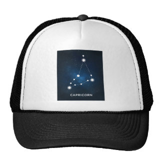 ELEGANT BLUE WATERCOLOR UNIVERSE - CAPRICORN CAP