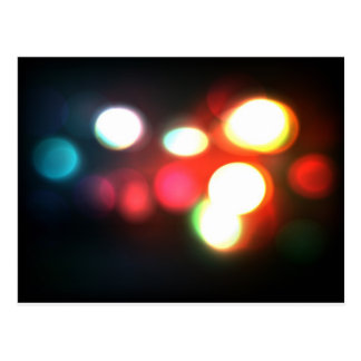 Elegant Bokeh Blur Postcard