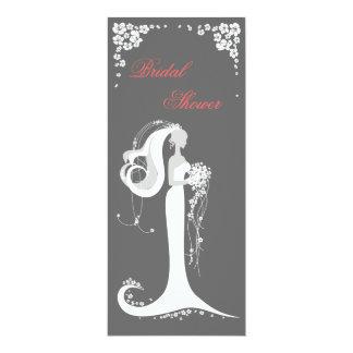 Elegant Bride Bridal Shower Party Announcement
