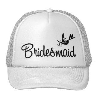 Elegant Bridesmaid Trucker Hat
