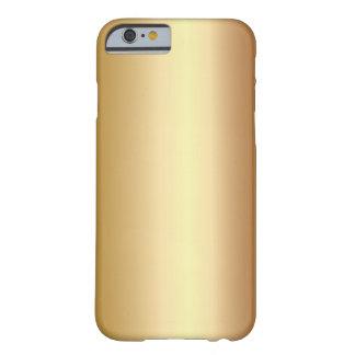Elegant Bronze Metal Look iPhone 6 case