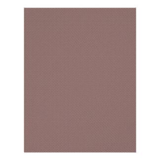 elegant brown damask circles on purple background custom flyer