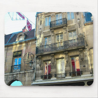 Elegant buildings, Dijon, Burgundy, France Mouse Pad