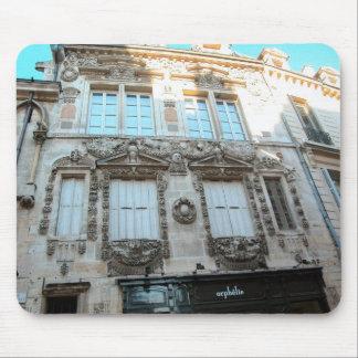 Elegant buildings in Dijon, Burgundy, France Mouse Pad