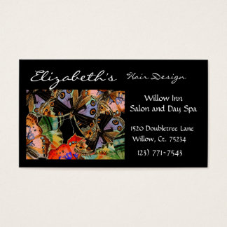 Elegant Business Butterfly Appointment Card