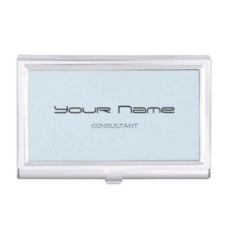 Elegant Business Card Holder (Blue)