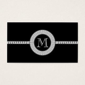 Elegant business card template Monogram