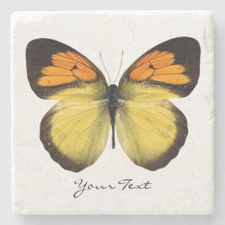 Elegant Butterfly Custom Stone Coaster Stone Beverage Coaster