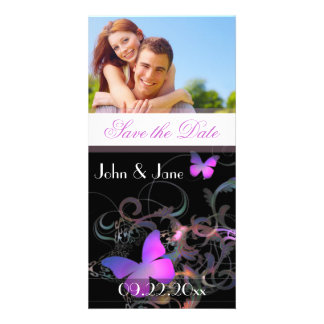 """Elegant Butterfly  /photo  """"Save the Date"""" Photo Card"""