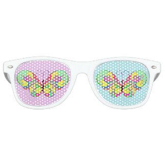 elegant butterfly retro sunglasses