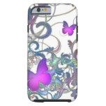 Elegant Butterfly Swirl