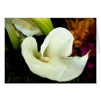 Elegant Calla Lily Card
