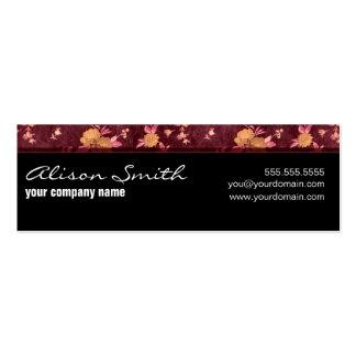 Elegant card pack of skinny business cards