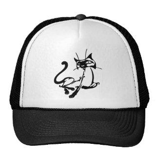 Elegant Cat Mesh Hats