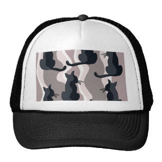 Elegant cats cap