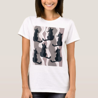 Elegant cats T-Shirt