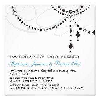 Elegant Chandelier Invitation