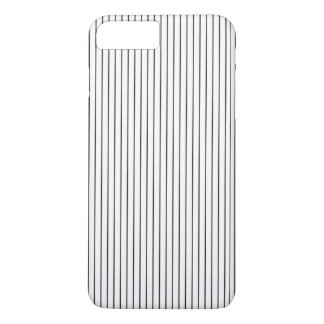 Elegant Chic Black White Striped iPhone 8 Plus/7 Plus Case