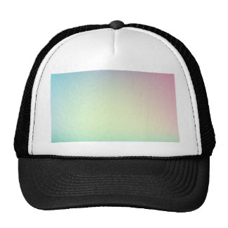 Elegant & Chic Ombre Pink and Teal Watercolor Cap