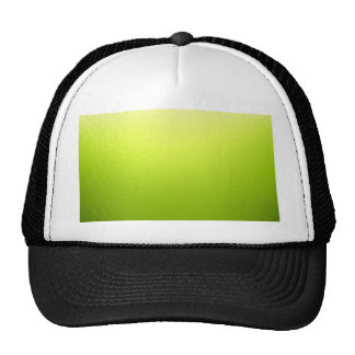 Elegant & Chic Ombre Yellow and Green Watercolor Cap