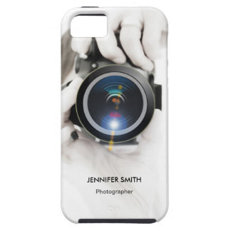 Elegant Chic Photographer Photography Camera Lens iPhone 5 Covers