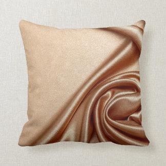 Elegant chic velvet golden black pattern textile throw pillows