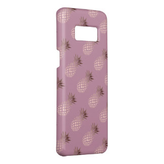 elegant chick clear rose gold tropical pineapple Case-Mate samsung galaxy s8 case