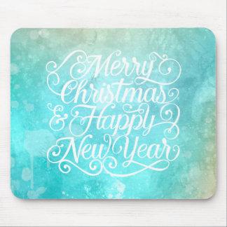 Elegant Christmas and New Year | Mousepad