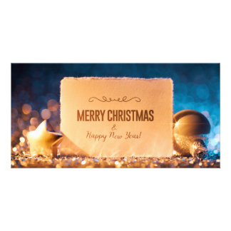 Elegant Christmas Card Photo Card