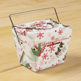 Elegant Christmas Favour Box