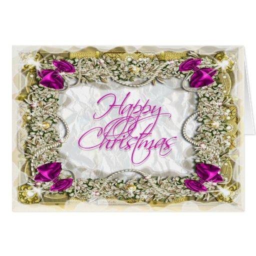 Elegant christmas greeting message zazzle for Elegant christmas card messages