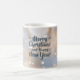 Elegant Christmas & Happy New Year   Classic Mug