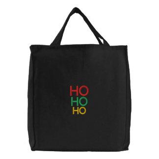 Elegant Christmas Ho Ho Ho festive gifts women Bags