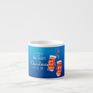 Elegant Christmas in the Heart | Espresso Mug
