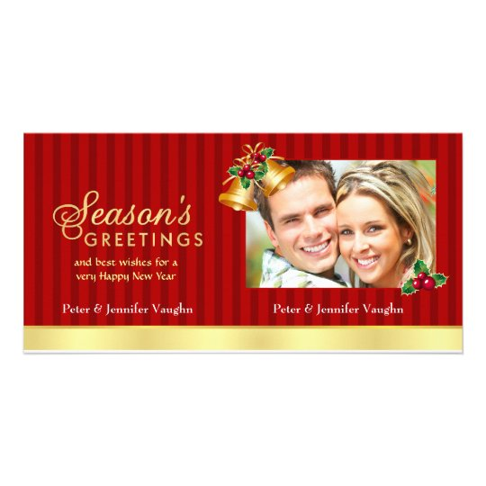 Elegant Christmas Photo Card