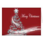 Elegant Christmas Tree and Christmas  Star