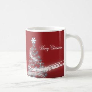 Elegant Christmas Tree and Christmas  Star Coffee Mug
