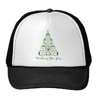 Elegant Christmas Tree Hat