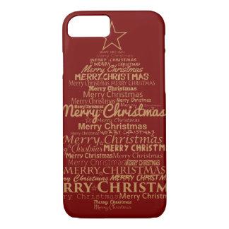 Elegant Christmas Tree iPhone 8/7 Case