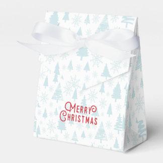Elegant christmas tree Merry Christmas Favour Box