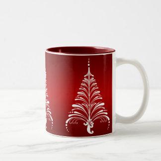 Elegant Christmas Tree Mug