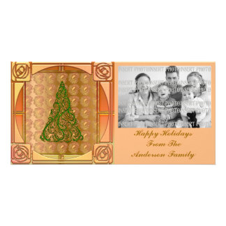 Elegant Christmas Tree Photo Card