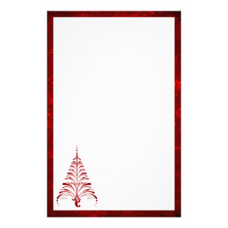 Elegant Christmas Tree Stationery
