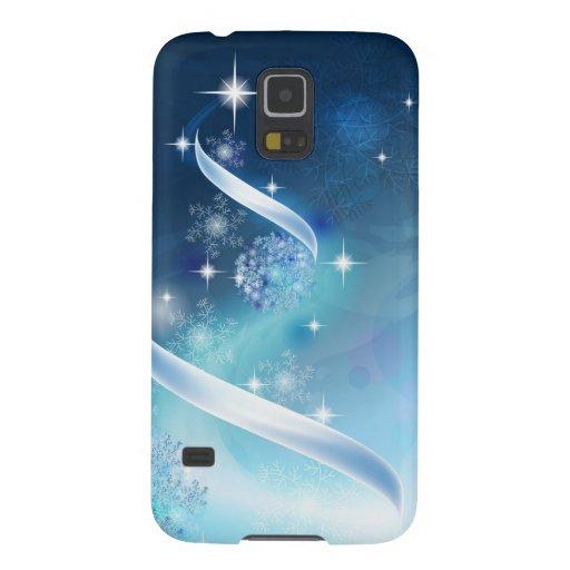 Elegant Christmas Tree with robins Samsung Galaxy Nexus Cases